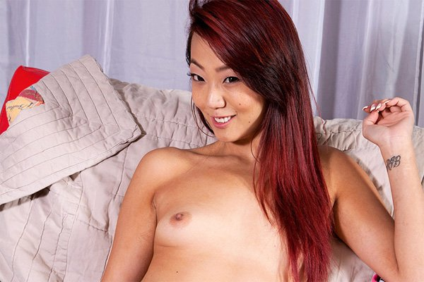 tiny asian tits